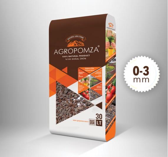 Agropomza 0-3 mm 30 lt